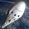 Rymdfart - SpaceX-raket (Courtesy SpaceX)